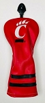 Cincinnati Bearcats Vintage Golf Driver Head Cover