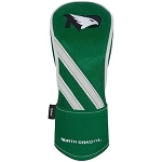 North Dakota Fighting Hawks NCAA Team Effort Individual Golf Hybrid Headcover