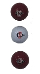 San Diego State Aztecs Golf Ball Clamshell