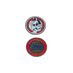 Southern Methodist (SMU) Mustangs Golf Ball Marker