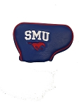 Southern Methodist (SMU) Mustangs Blade Golf Putter Cover