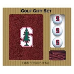 Stanford Cardinals Embroidered Golf Gift Set