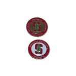 Stanford Cardinals Golf Ball Marker