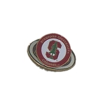 Stanford Cardinals 2 Marker Golf Hat Clip