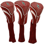 Stanford Cardinals Golf Contour 3 pack Head Covers
