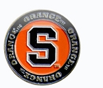 Syracuse Orange Golf Ball Marker