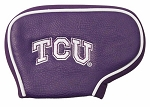 Texas Christian University Horned Frogs Blade Golf Putter Cover