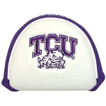 Texas Christian University Horned Frogs Mallet Golf Putter Cover