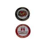 Temple Owls Golf Ball Marker