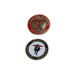 Texas Tech Red Raiders Golf Ball Marker