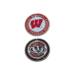 Wisconsin Badgers Golf Ball Marker