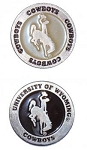 Wyoming Cowboys Golf Ball Marker