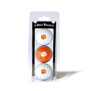 Clemson Tigers Golf Ball Clamshell