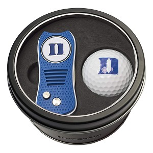 Duke Blue Devils NCAA Golf Gift Set Switchblade Divot Tool with Double-Sided Magnetic Ball Marker & Golf Ball