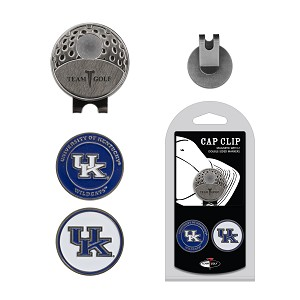 Kentucky Wildcats 2 Marker Golf Hat Clip