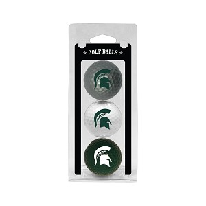 Michigan State Spartans Golf Ball Clamshell