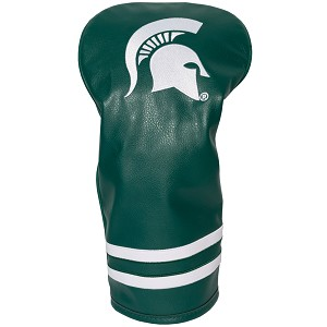 Michigan State Spartans Vintage Golf Driver Head Cover