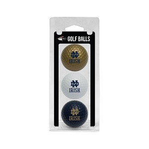 Notre Dame Fighting Irish Golf Ball Clamshell