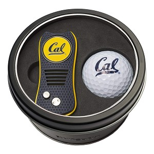 Cal Berkeley Bears NCAA Golf Gift Set Switchblade Divot Tool with Double-Sided Magnetic Ball Marker & Golf Ball  (COPY)