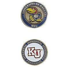 Kansas Jayhawks Golf Ball Marker
